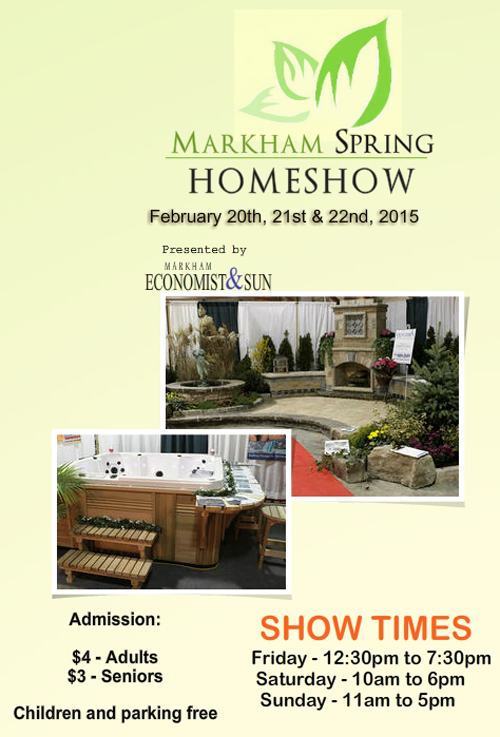 Markham Home Show Graphic 1